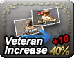 Veteran Increase 40% + 10