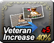 Veteran Increase 40% + 5