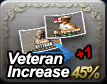 Veteran Increase 45% + 1