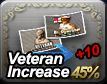 Veteran Increase 45% + 10