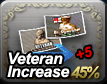 Veteran Increase 45% + 5