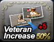 Veteran Increase 50% + 5